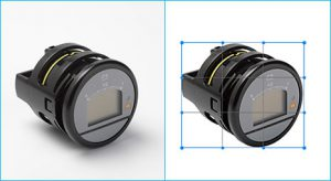 Applied crop-resize technique in Photoshop to sample-image-for-camera-lens done by- Clipping Path Product.